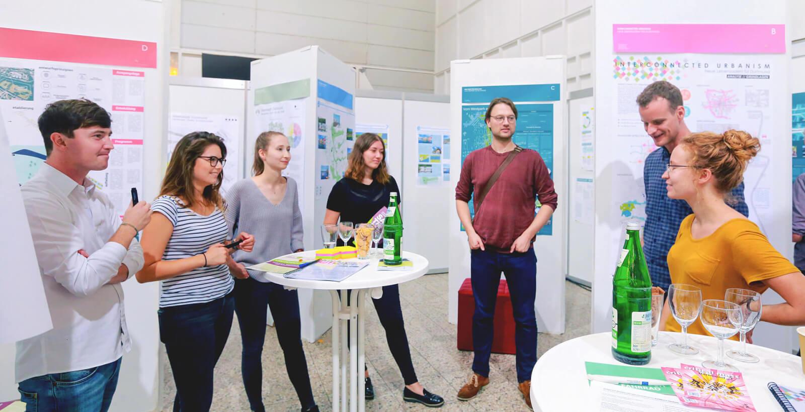 Diskussion beim Fachtag für Nachhaltige Beschaffung